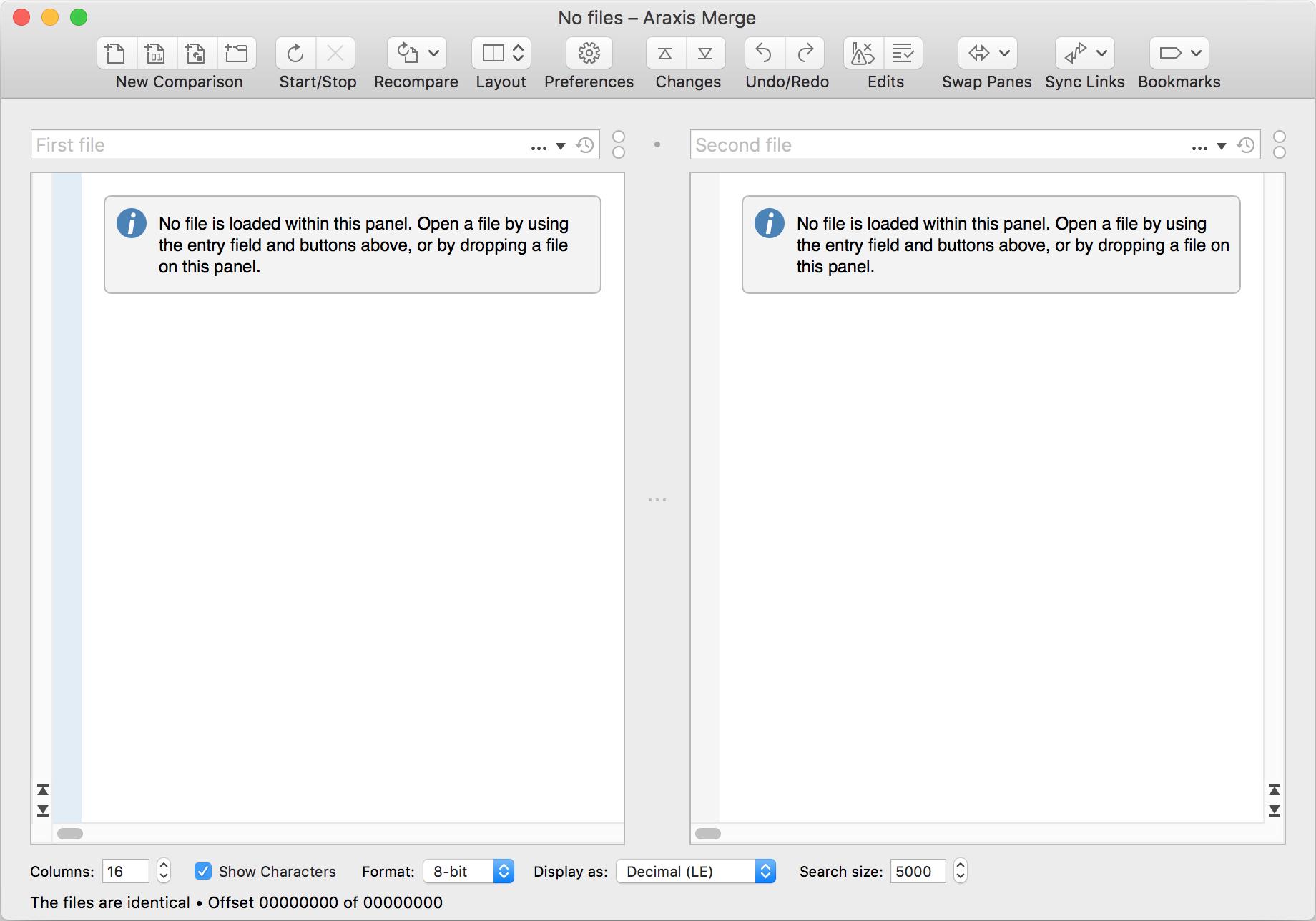 Comparing Binary Files