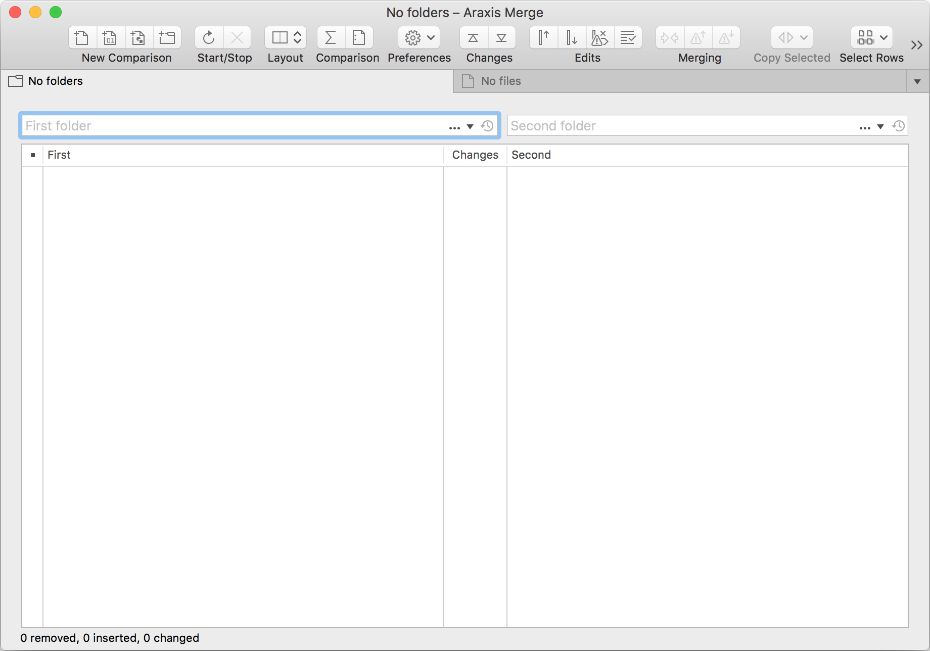 Comparing Folders